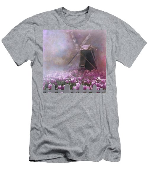 Skagit Valley In Spring Men's T-Shirt (Athletic Fit)