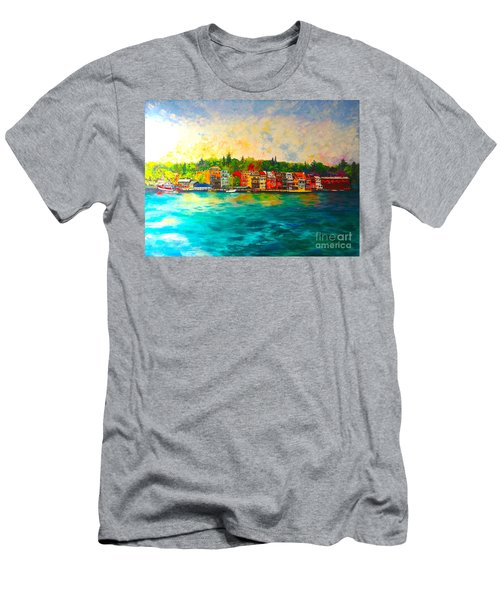 Skaneateles Men's T-Shirt (Athletic Fit)