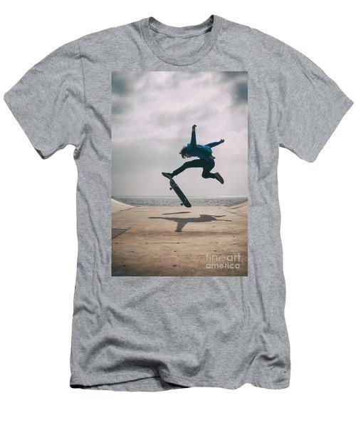 Skater Boy 003 Men's T-Shirt (Athletic Fit)