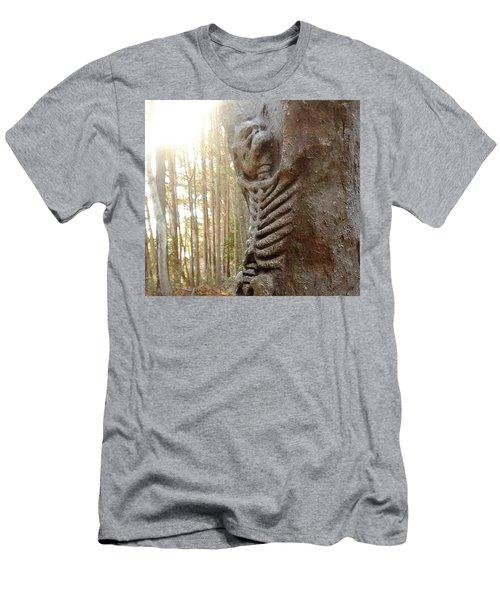 Skeleton Tree Men's T-Shirt (Athletic Fit)
