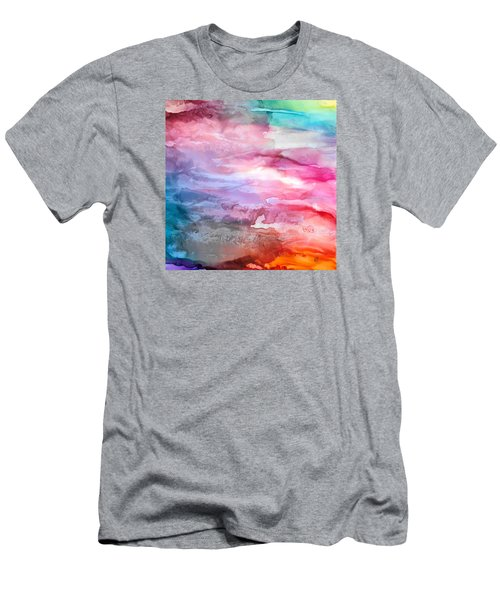 Skies Emotion Men's T-Shirt (Athletic Fit)