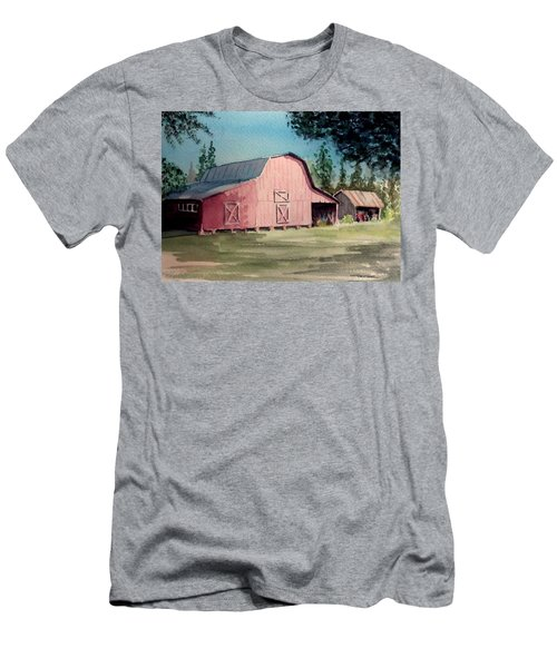 Skip Kelly's Barn Men's T-Shirt (Athletic Fit)