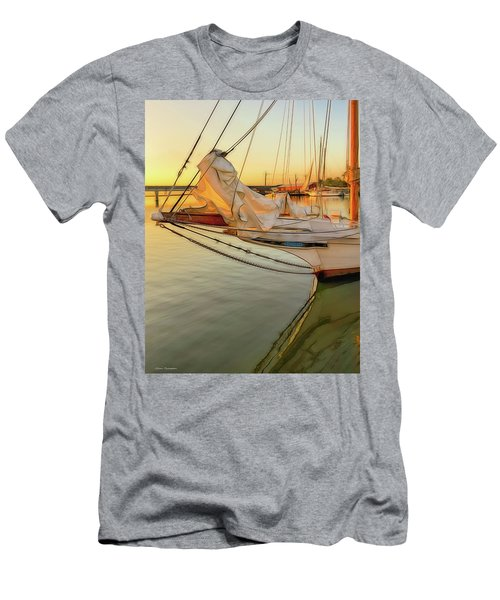 Skipjack At Sunrise  Men's T-Shirt (Athletic Fit)