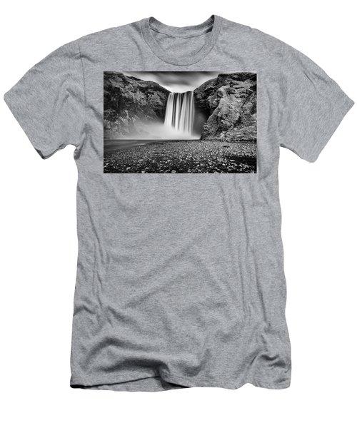 Skogafoss Men's T-Shirt (Athletic Fit)