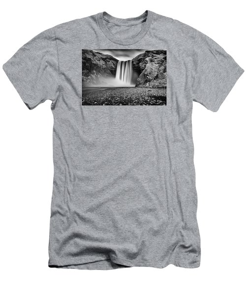 Men's T-Shirt (Athletic Fit) featuring the photograph Skogafoss by James Billings