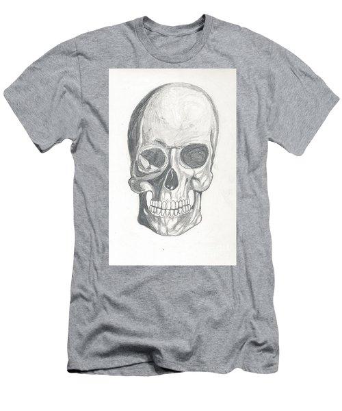 Skull Study 2 Men's T-Shirt (Athletic Fit)