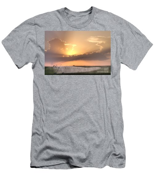 Sky And Water Men's T-Shirt (Slim Fit) by Art Whitton