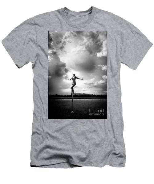 Sky Dancing Men's T-Shirt (Athletic Fit)