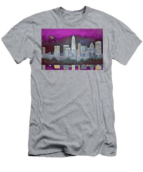 Sky Line Men's T-Shirt (Athletic Fit)