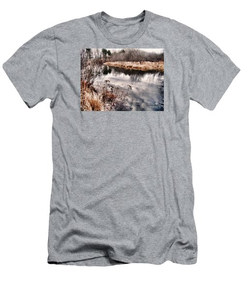 Men's T-Shirt (Slim Fit) featuring the photograph Sky Low by Betsy Zimmerli