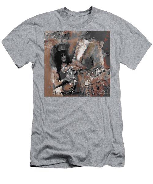 Slash Guns And Roses  Men's T-Shirt (Athletic Fit)