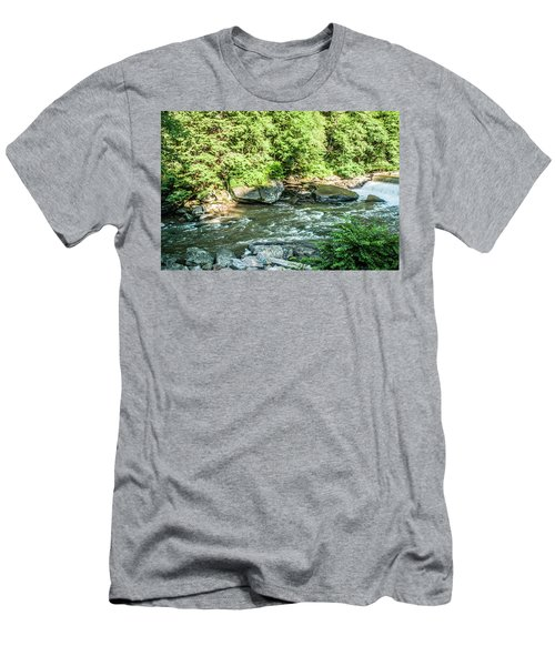Slippery Rock Gorge - 1898 Men's T-Shirt (Athletic Fit)