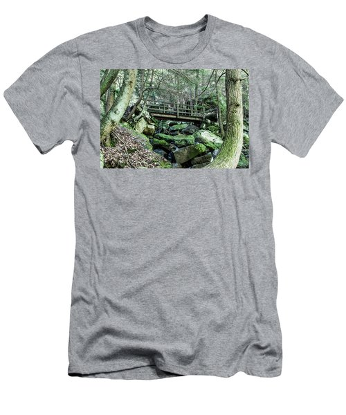 Slippery Rock Gorge - 1927 Men's T-Shirt (Athletic Fit)