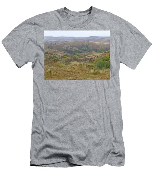 Slope County In The Rain Men's T-Shirt (Athletic Fit)