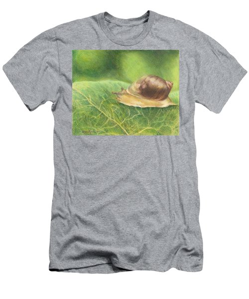 Slow And Steady Men's T-Shirt (Athletic Fit)