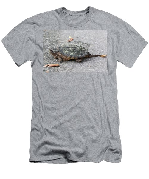 Slow Crossing 3 March 2018 Men's T-Shirt (Athletic Fit)