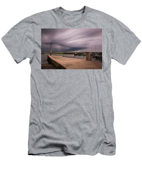Slow Summer Storm Men's T-Shirt (Athletic Fit)