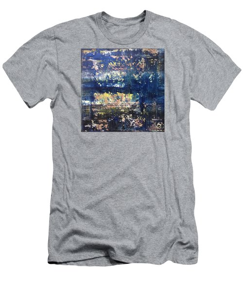 Small Blue Men's T-Shirt (Athletic Fit)