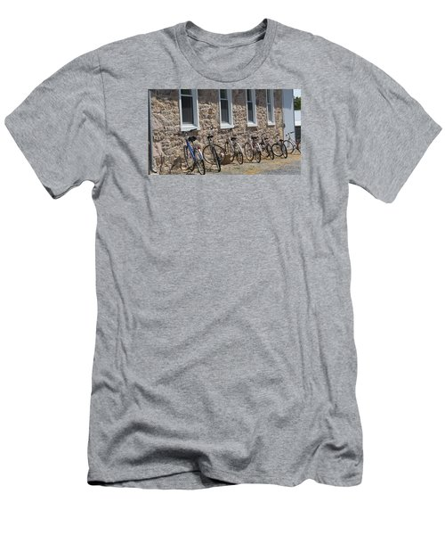 Men's T-Shirt (Slim Fit) featuring the photograph Small Country School by Jeanette Oberholtzer