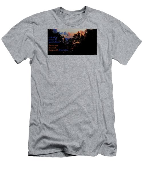 Men's T-Shirt (Slim Fit) featuring the photograph Small Counts by David Norman