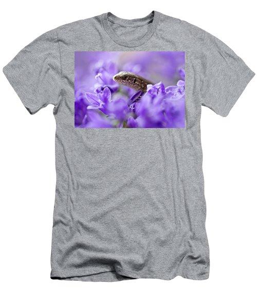 Small Lizard Men's T-Shirt (Athletic Fit)