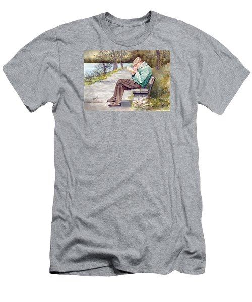 Small Print Men's T-Shirt (Slim Fit) by Sam Sidders