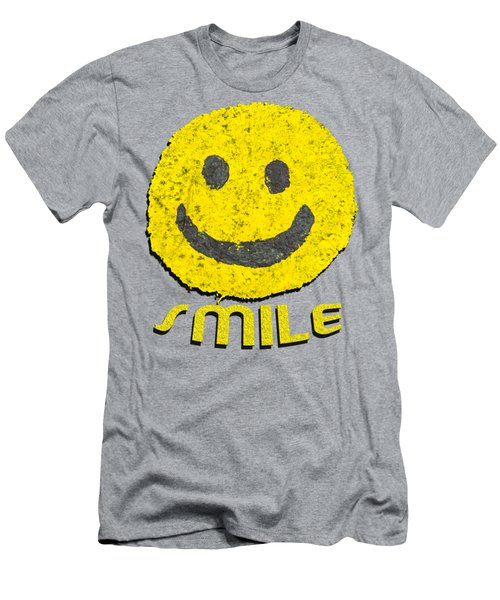 Smile Men's T-Shirt (Slim Fit) by Thomas Young