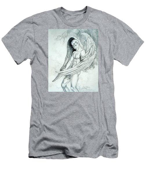 Smiling Angel Men's T-Shirt (Athletic Fit)
