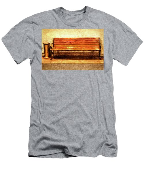 Smoker's Bench Men's T-Shirt (Athletic Fit)