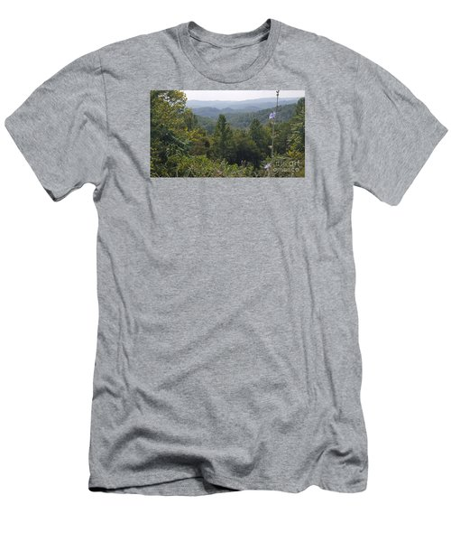 Smokey Mountain Sentinel Men's T-Shirt (Athletic Fit)