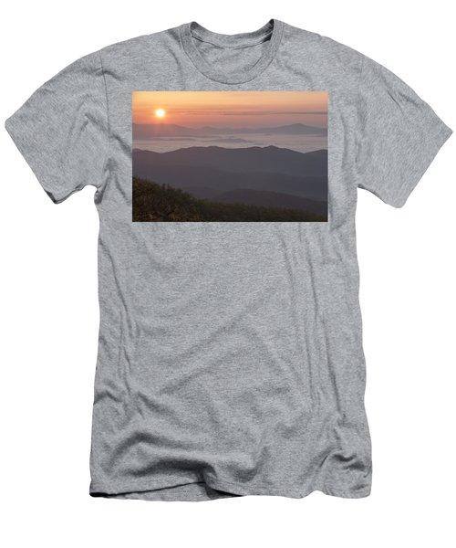 Smokey Sunset Men's T-Shirt (Athletic Fit)