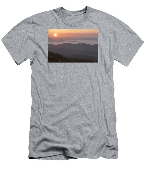 Smokey Sunset Men's T-Shirt (Athletic Fit)