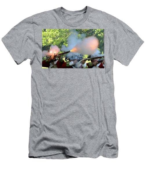 Smoking Guns Men's T-Shirt (Athletic Fit)