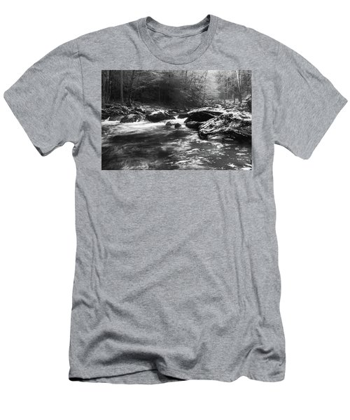 Smoky Mountain River Men's T-Shirt (Athletic Fit)