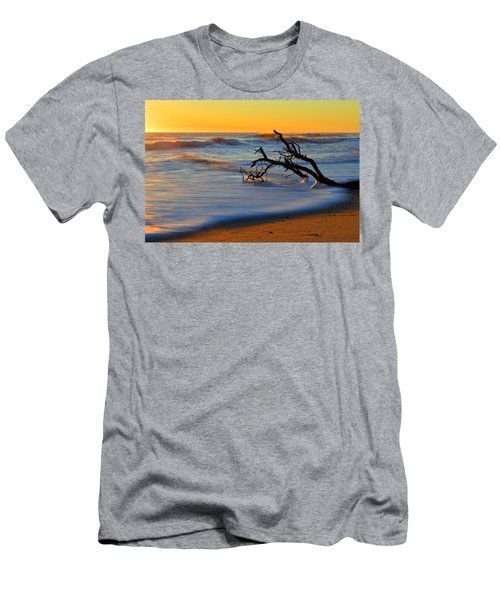 Smooth Move Men's T-Shirt (Slim Fit) by Dianne Cowen