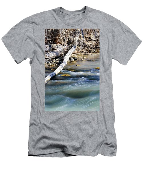 Smooth Water Men's T-Shirt (Athletic Fit)