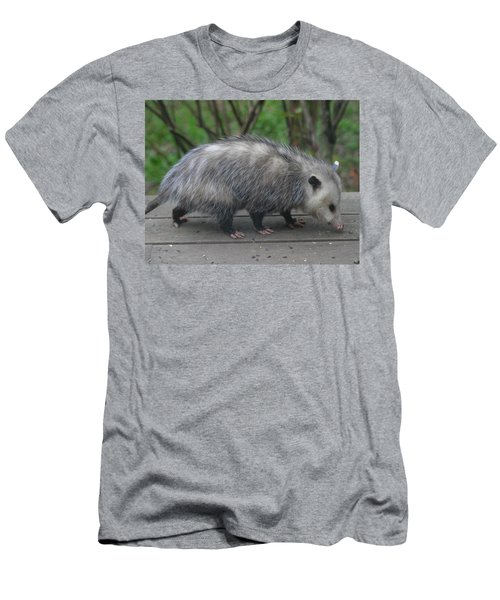 Sniffing Around Men's T-Shirt (Slim Fit) by Kym Backland