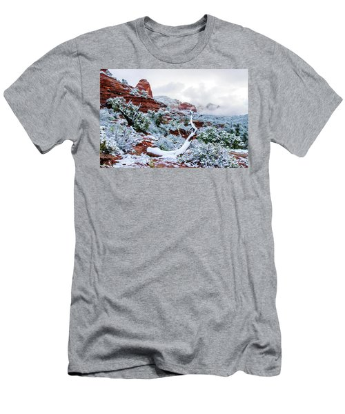 Snow 05-024 Men's T-Shirt (Athletic Fit)