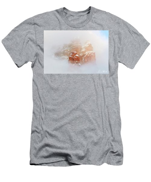 Snow 07-099 Men's T-Shirt (Slim Fit) by Scott McAllister