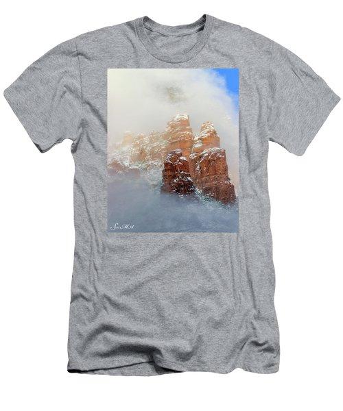 Snow 07-102 Men's T-Shirt (Slim Fit) by Scott McAllister