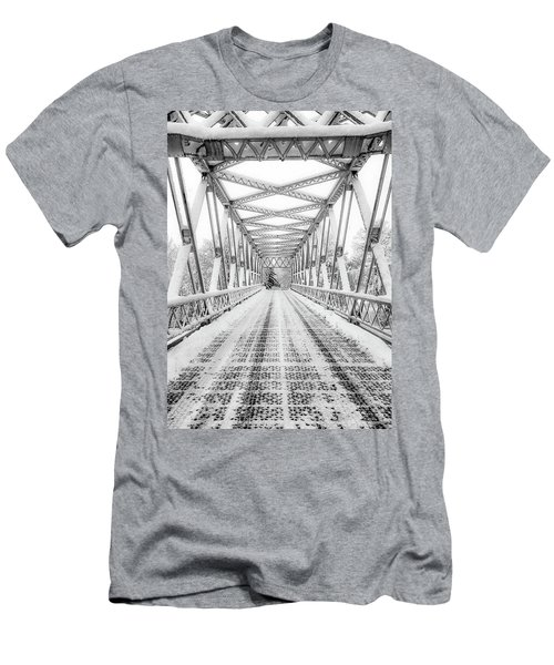 Snow Angles Men's T-Shirt (Athletic Fit)