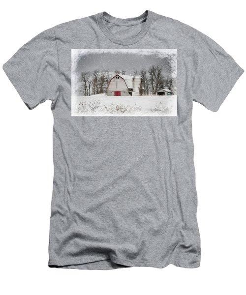 Snow Barn Men's T-Shirt (Athletic Fit)