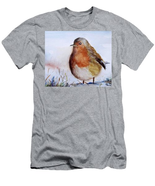 Snow Bird Men's T-Shirt (Slim Fit) by William Reed