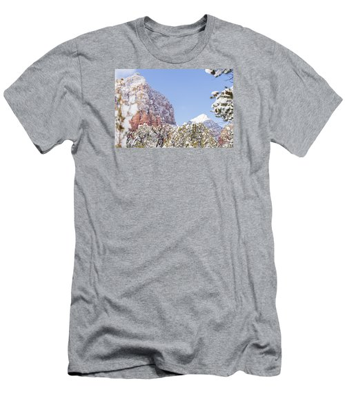 Snow Covered Men's T-Shirt (Athletic Fit)