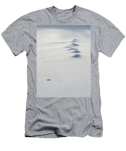 Snow Drifts Men's T-Shirt (Athletic Fit)