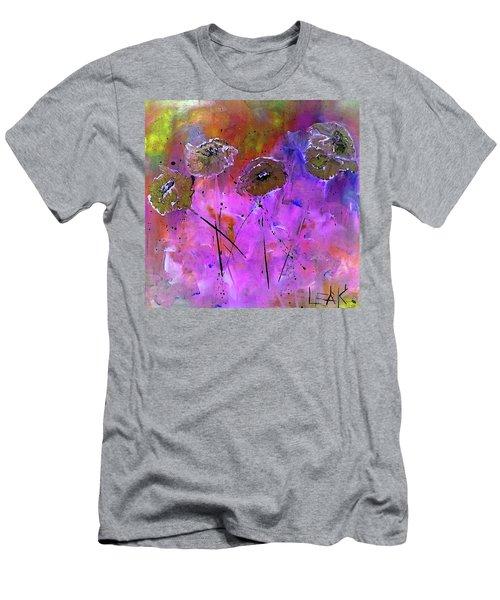 Snow Flowers Men's T-Shirt (Athletic Fit)