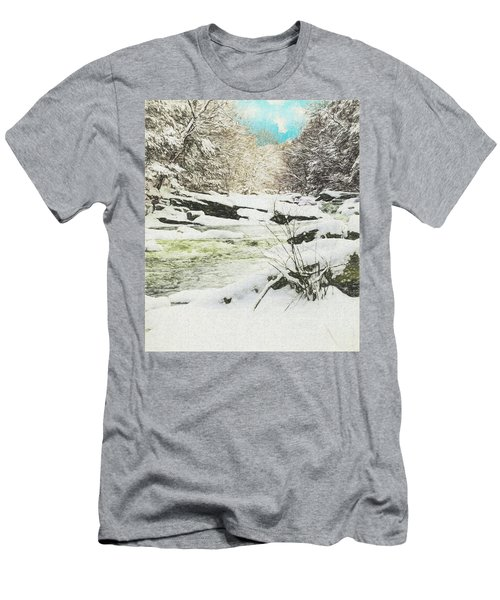 Snow On The Natchaug Men's T-Shirt (Athletic Fit)