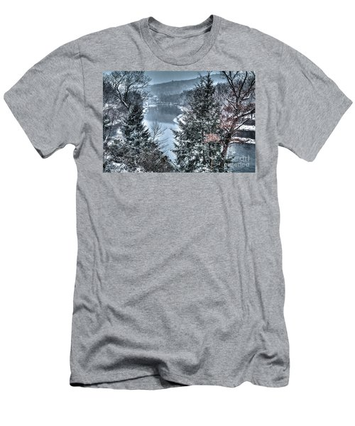 Snow Squall Men's T-Shirt (Slim Fit) by Tom Cameron