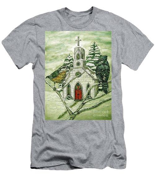 Snowbirds Visit St. Paul Men's T-Shirt (Athletic Fit)