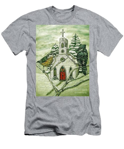 Snowbirds Visit St. Paul Men's T-Shirt (Athletic Fit)